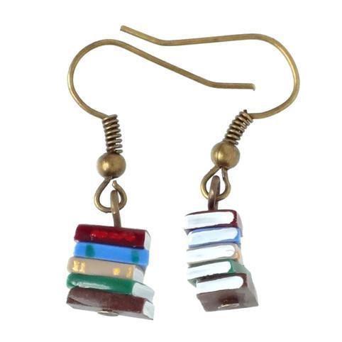 Book Stacks Earrings
