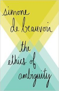 cover for the ethics of ambiguity by simone de beauvoir