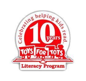 Toys for Tots Literacy Program logo