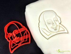 William Shakespeare cookie cutter