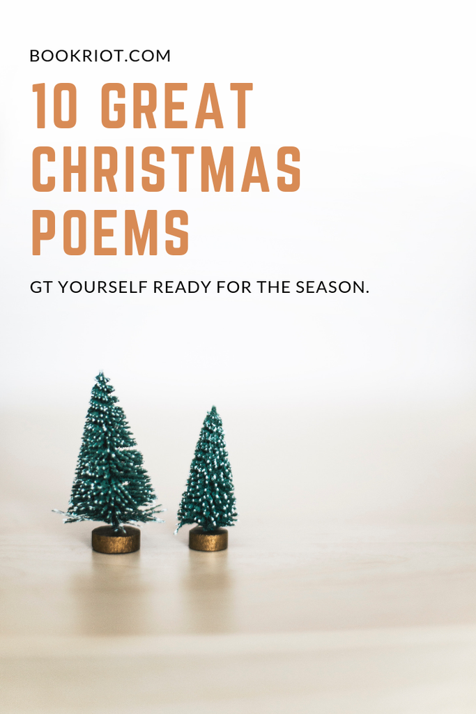 10 great Christmas poems to help get you into the season. Christmas poems | poetry | seasonal poetry | holiday poetry | Christmas literature