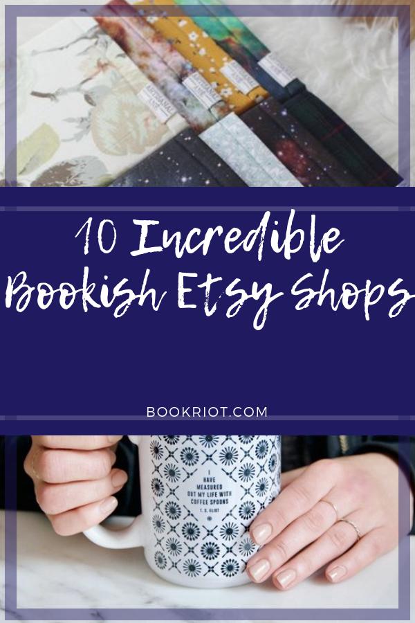 10 Incredible Bookish Etsy Shops | bookriot.com