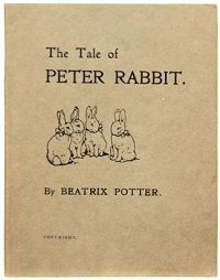 1st edition The Tale of Peter Rabbit by Beatrix Potter