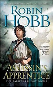 Assassin's Apprentice cover - Robin Hobb