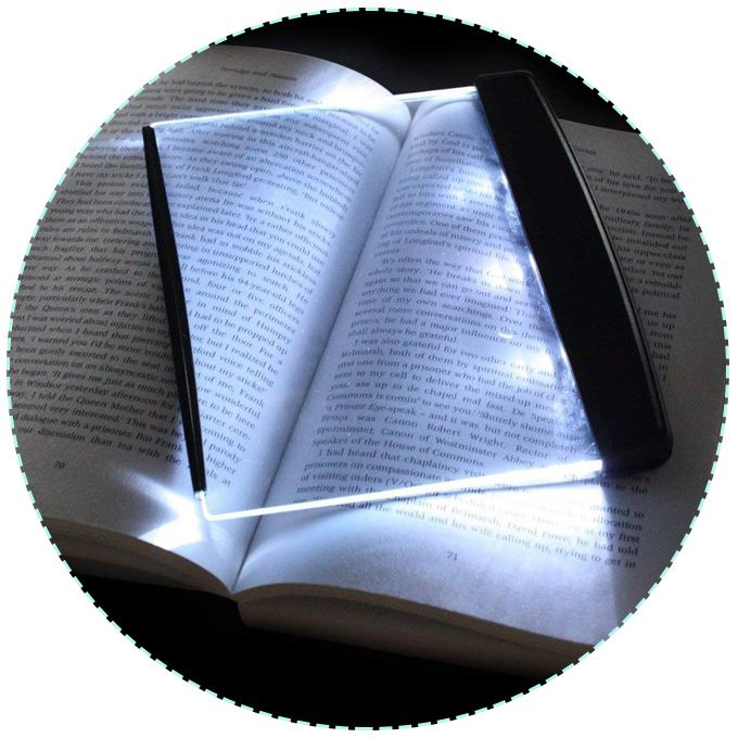 LED Panel Book Light/Bookmark