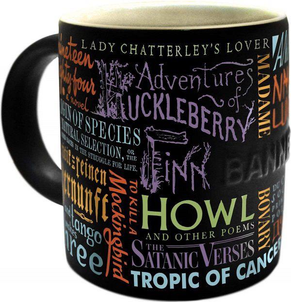 Banned Books Coffee Mug