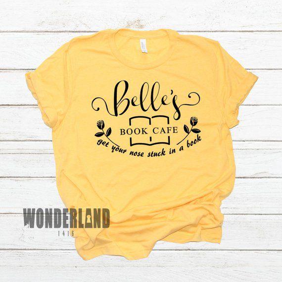 Belle's Book Cafe Shirt