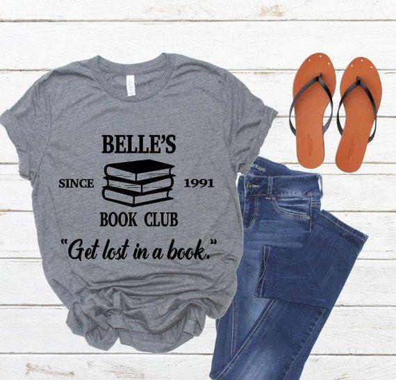 Belle's Book Club Shirt
