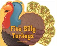 Five Silly Turkeys Cover