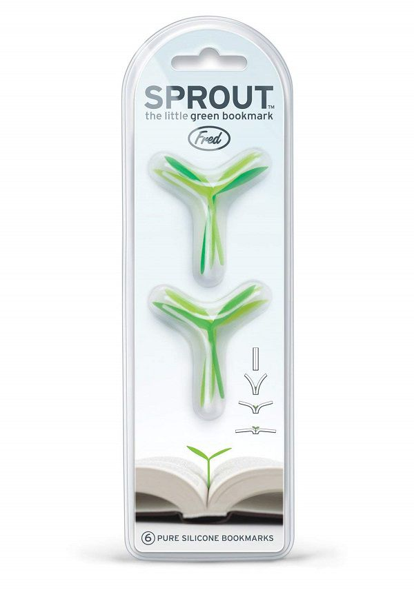 Fred Sprout Little Green Bookmarks Set of 6