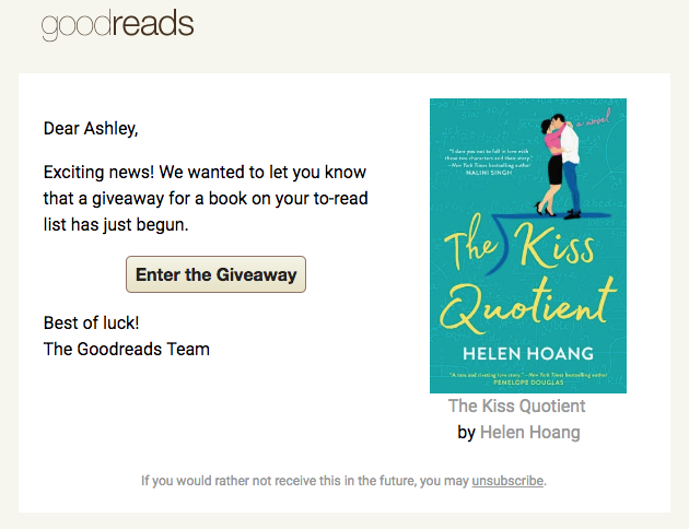 Goodreads Giveaways: Answers To Your FAQs for Finding and
