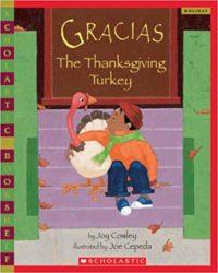 Gracias the Thanksgiving Turkey Cover