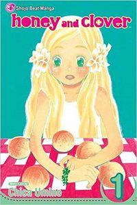 Honey and Clover volume 1 cover - Chica Umino