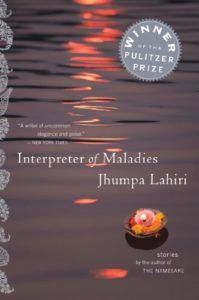 Cover of Interpreter of Maladies short stories by Jhumpa Lahiri
