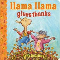 Llama Llama Gives Thanks cover