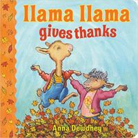 Llama Llama Gives Thanks cover