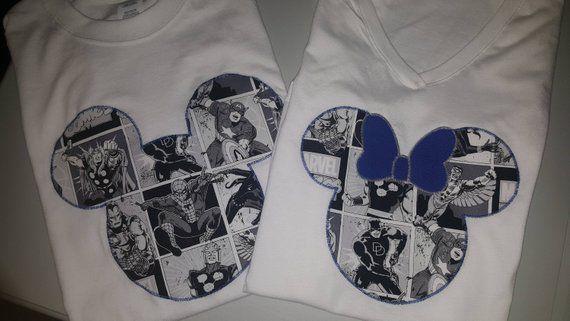 Marvel Mickey Ears Shirt