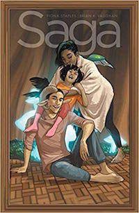 Saga Vol 9 cover image