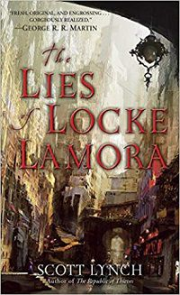 The Lies of Locke Lamora cover - Scott Lynch