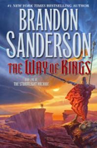 The Way of Kings cover - Brandon Sanderson