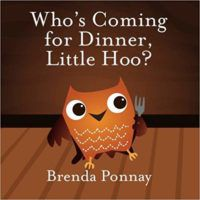 Who's Coming for Dinner Little Hoo? Cover