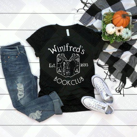 Winifred's Book Club Shirt