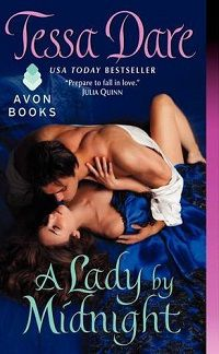 a lady by midnight by tessa dare cover