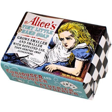 alice in wonderland soap