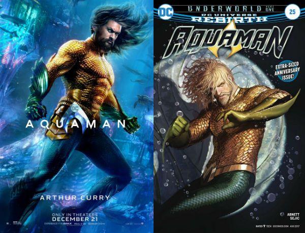 Aquaman movie characters