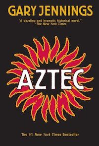 Aztec by Gary Jennings cover