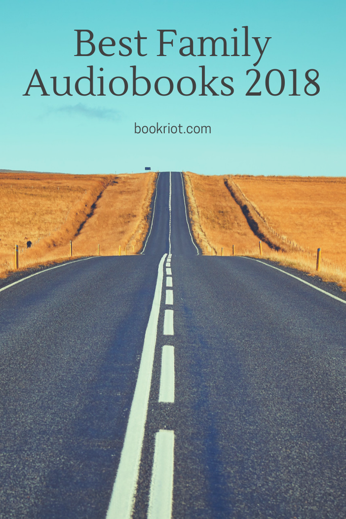 The best family audiobooks in 2018. Listen to these great audiobooks in the car or anywhere there will be listeners of all ages. audiobooks | family audiobooks | best family audiobooks | audiobook reading lists | great audiobooks
