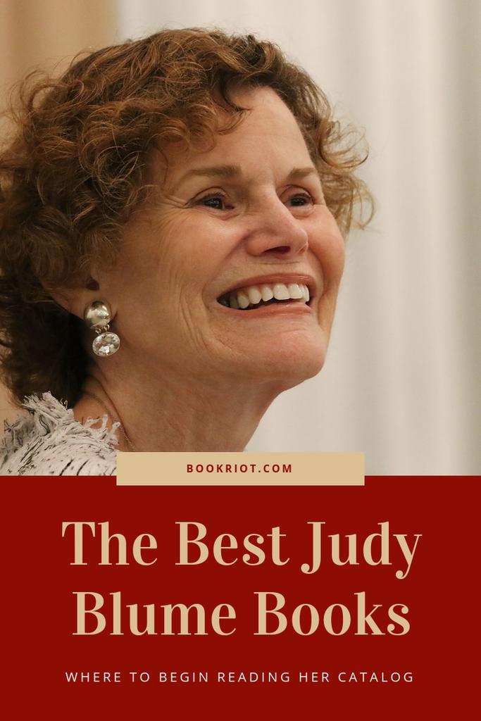 Where to begin reading the best Judy Blume books. We've got a guide! book lists | Judy Blume | Judy Blume Books | Judy Blume book guide | Best Judy Blume books