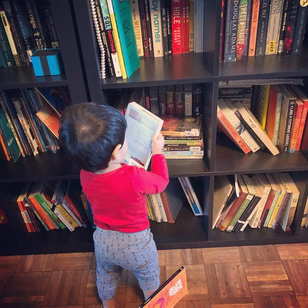 perils of a toddler who loves reading