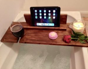 gifts for english teachers bath tray