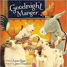Goodnight Manger book cover