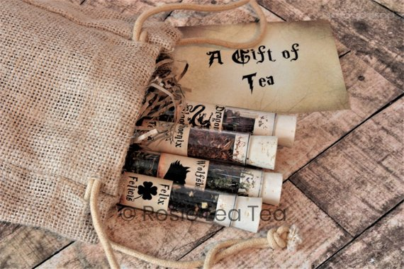 Harry Potter themed literary tea gift