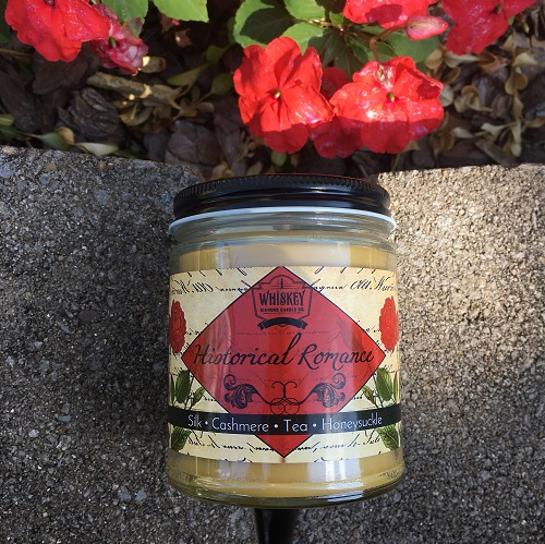 historical romance bookish candle romance reader gifts