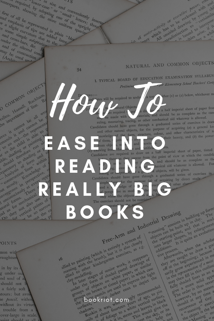 Want to read a giant book but are intimidated? Here's a handy guide to reading big books without feeling overwhelmed. how to | reading hacks | reading tips | reading big books