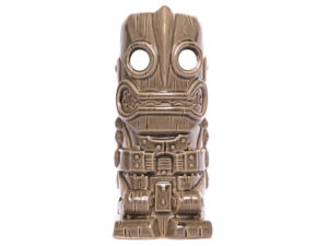 the iron giant ceramic tiki mug