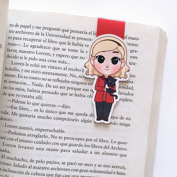 chilling adventures of sabrina and salem magnetic bookmark