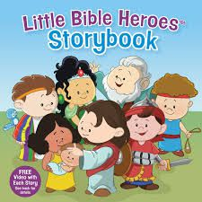 Little Bible Heroes Storybook book cover