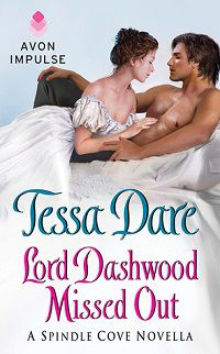 lord dashwood missed out by tessa dare cover
