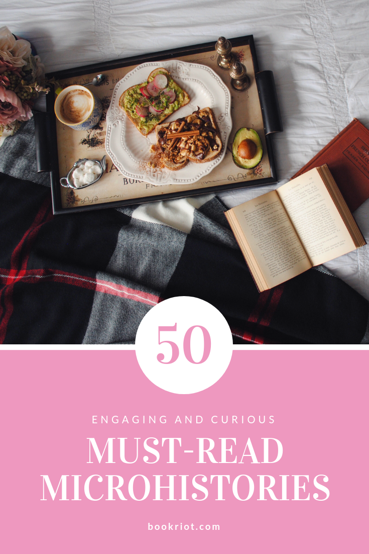 Take a deep dive into the world of everyday things with this list of 50 must-read microhistories. Everything from rain to bicycles, salt to swearing. book lists | microhistories | everything objects | books to read | nonfiction books | nonfiction book lists