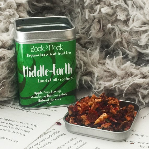 Literary tea gift inspired by Tolkien
