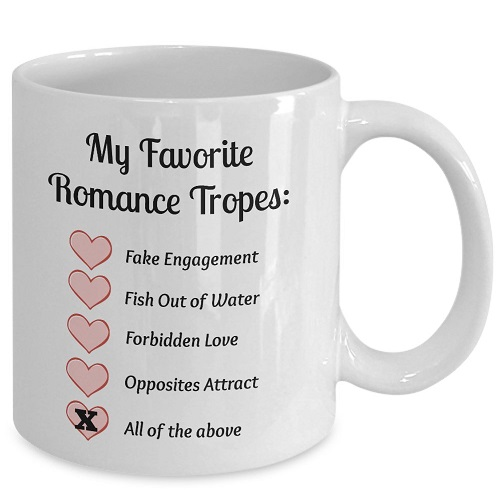 romance tropes bookish mug romance reader gifts