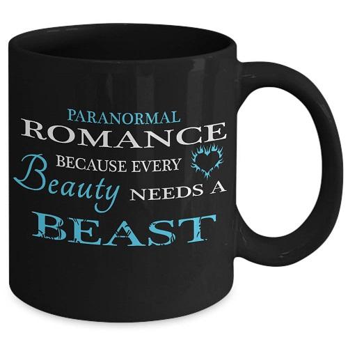 paranormal romance bookish mug romance reader gifts