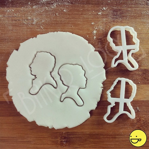 pride and prejudice cookie cutters bookish baking romance reader gifts