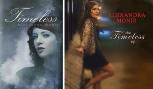 Timeless by Alexandra Monir book and ep cover