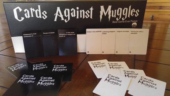 Cards Against Muggles, Unique Harry Potter Gifts, Book Riot