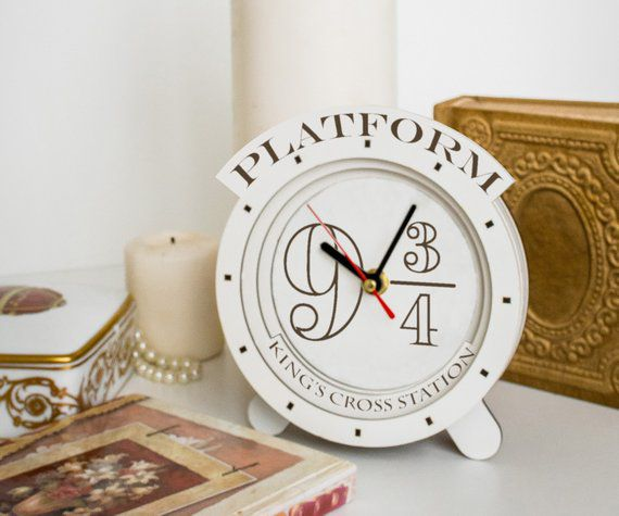 Harry Potter Clock, Unique Harry Potter Gifts, Book Riot